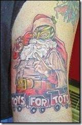 Christmas Themed Tattoos 15