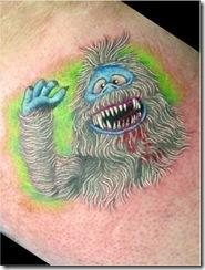 Christmas Themed Tattoos 17