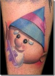 Christmas Themed Tattoos 1