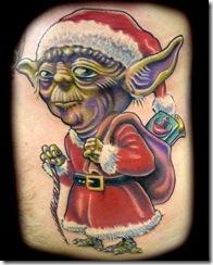 Christmas Themed Tattoos 20