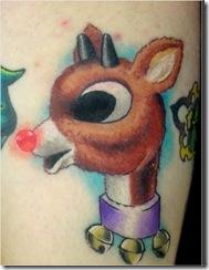 Christmas Themed Tattoos 9